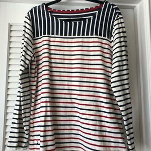 Joules thick striped long sleeve top